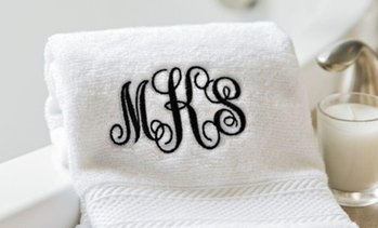 Personalised Luxury Bath Towel