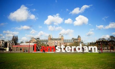 Wycieczka do Amsterdamu lub Paryża