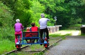 Balade en vélo-rail