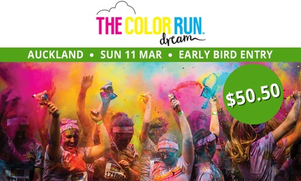 The Color Run™ 5K Race Entry for $50.50, 11 March, QBE Stadium, Albany