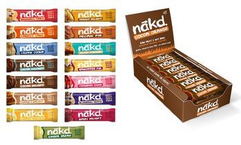 8 NAKD Snack Bars Box