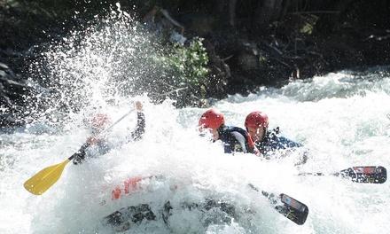 Actividad de aventura para dos o cuatro con comida en Rafting Llavorsí (hasta 49% de descuento)