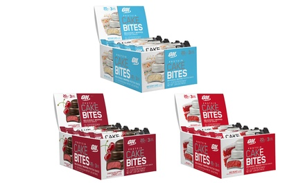 Optimum Nutrition Cake Bite Protein Snacks (12-Count)
