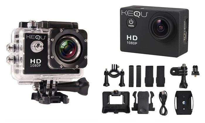 Action Cam Full HD Kequ