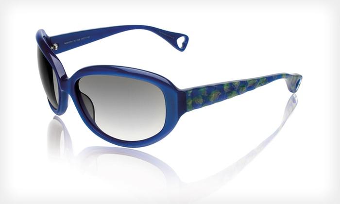 Safari Chic Sunglasses: $39 for Safari Chic Sunglasses by Betsey Johnson ($225 List Price). Three Colors Available.