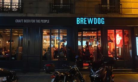 1 pizza au choix et 1 pint headliner au choix pour 1 ou 2 personnes dès 15,90 € au restaurant Brew Dog