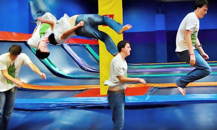 Two Hours of All-Access Jump Pass for Two or Four People at Jumpstreet (Up to 52% Off).
