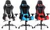 High Back Racing Gaming Chair with Lumbar Support & Headrest