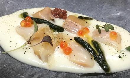 Menú degustación para 2 personas con 6 o 10 platos por persona desde 59,95 € en Quince Nudos con el Chef Bruno Lomban