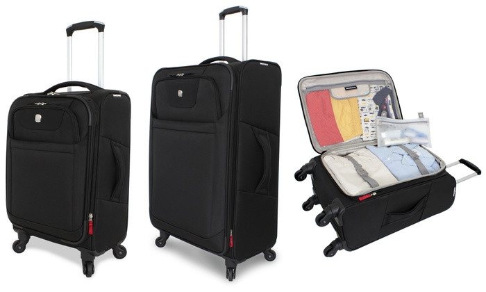SwissGear Luggage Set (2-Piece) | Groupon Goods