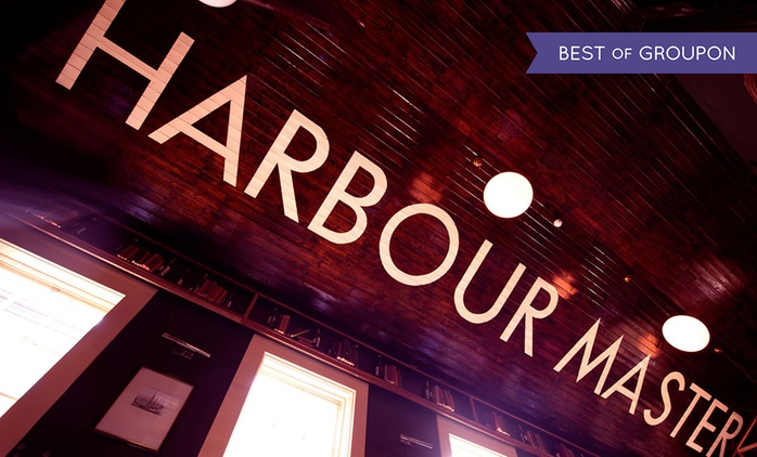 Main Course with Side Dish and Hot Drink for Two or Four at The Harbourmaster (Up to 52% Off)