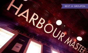 The Harbourmaster: Main Course with a Side Dish and Hot Drink for Two or Four at The Harbourmaster (Up to 62% Off)