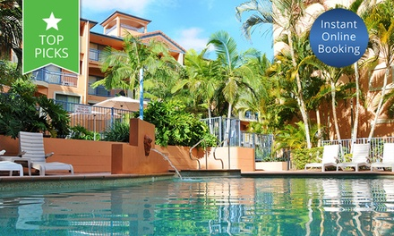 Coolangatta: Three or Four-Night Stay for Four People at Bella Mare Beachside Apartments Gold Coast
