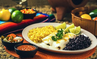 $10  For $20 Worth of Tex-Mex at Alfredo's Mexican Cafe. Four Locations Available.