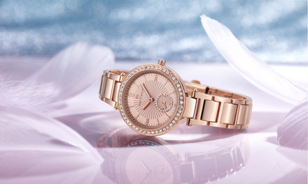 Timothy Stone Elle Women's Watch with Crystals from Swarovski® for £24.90 With Free Delivery