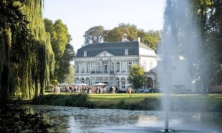 Maastricht: 2-4 Tage für Zweimit Frühstück und Begrüßungsgetränk auf dem Landsitz Buitenplaats Vaeshartelt