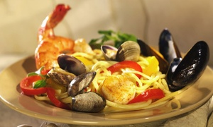 Luigi's Restautant: Italian Food at Luigi's Restaurant (Up to 28% Off). Two Options Available.