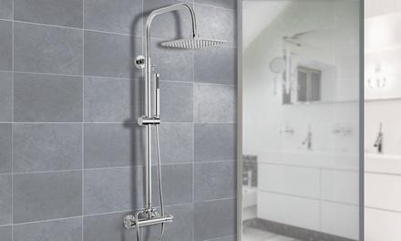 Colonne de douche thermostatique ronde ou carrée (SaintEtienne)