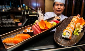 The Crazy Bear Group: Sushi, Sashimi and Premium Champagne £24.95 (52% off)