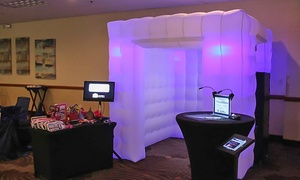 DreamVision Media: 3- or 4-Hour Photo Booth Rental at DreamVision Media (Up to 39% Off)