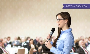 The D4 Clinic: Public Speaking Masterclass by The D4 Clinic, 27 March–10 April at Clayton Hotel (Up to 87% Off)