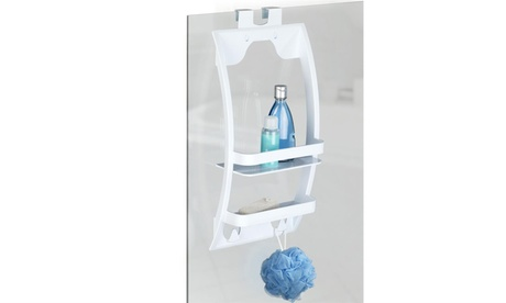 Scaffale universale con mensole per parete doccia radiatori o a