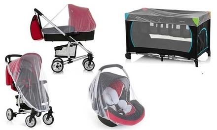 Mosquitero universal para carrito de bebé