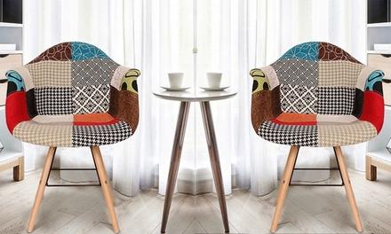 Lot de 1, 2 ou 4 fauteuils scandinaves Vacuit