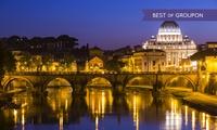 Rome : 1 à 3 ou 5 nuits avec petit déjeuner, bouteille de vin et parking à l'hôtel Scheppers pour 2 personnes