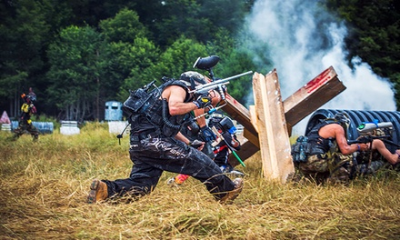 Paintball at Skirmish USA Including Gear and Transportation (Up to 50% Off)