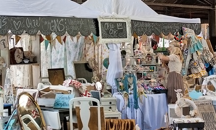$10 for Three-Day Entry for Two to Vintage Market Days ($20 Value)