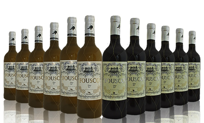 12 Bottles of Red, White or Mixed Wine for £39.99 with Free Delivery (64% Off)