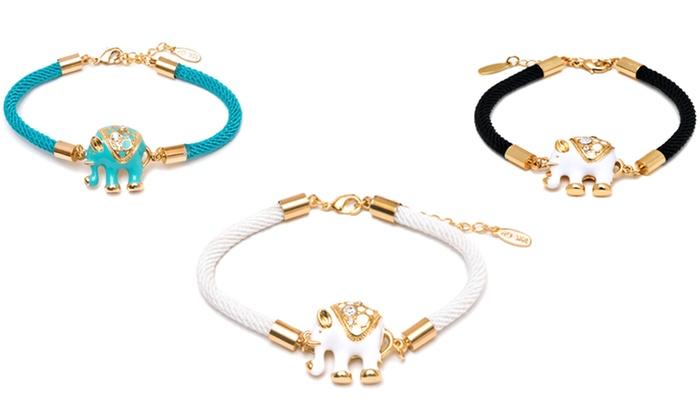 Elephant Charm Bracelets with Swarovski Crystals. Elephant Charm Bracelets 897316151