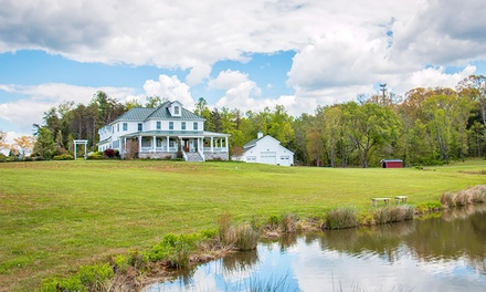Groupon Deal: 1-Night Stay for Two at Walden Hall in Reva, VA. Combine Up to 4 Nights.