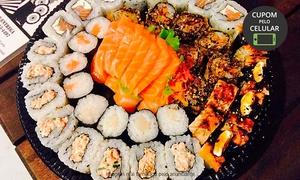 Masaaki Sushi: Masaaki Sushi – Rio Branco: combinado japonês com 50 peças