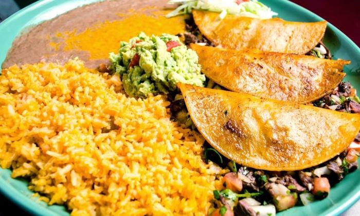 La Palmera - Paine Field-Lake Stickney: $15.50 for $30 Worth of Mexican Food at La Palmera