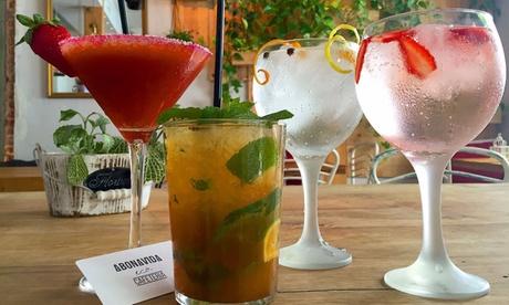 2, 4 o 6 copas premium o cocktails con un entrante XXL para 2, 4 o 6 personas desde 14,95 € en Abonvida, junto a Callao Oferta en Groupon