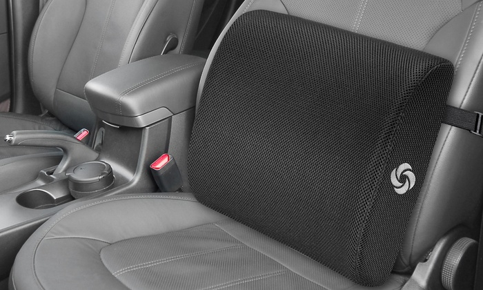 Up To 28% Off on Samsonite Lumbar Support Cushion | Groupon Goods
