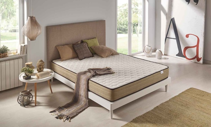 matelas bambou m moire de forme groupon. Black Bedroom Furniture Sets. Home Design Ideas