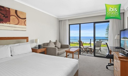 Port Macquarie: 1-3 Nights for Two People with Late Check-Out and Bottle of Wine at ibis Styles Port Macquarie