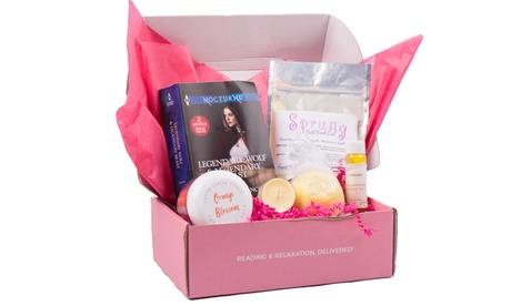 Up to 35% Off on Beauty Subscription Box at Bubbles & Books