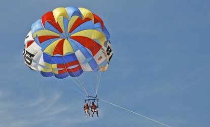 image for Parasail Ride for One, Two, or Four, from Diamond Head Parasail  (Up to 44% Off)