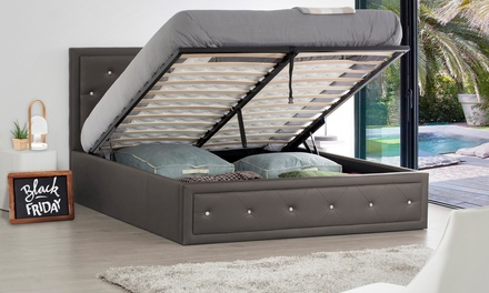 lit coffre de rangement luxstona deals et offres en lille et toute la france. Black Bedroom Furniture Sets. Home Design Ideas