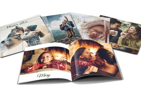 Foto-libro de tapa blanda personalizable con 20 o 40 páginas desde 1,99 € con Printer Pix