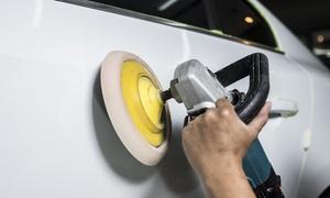 TRD Auto Repairing Garage: Full Car Body Polish or Car Headlight Restoration for One or Both Lights from TRD Auto Repairing Garage