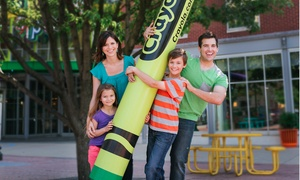 Crayola Experience – Up to 50% Off Admission for Two  at Crayola Experience, plus 6.0% Cash Back from Ebates.