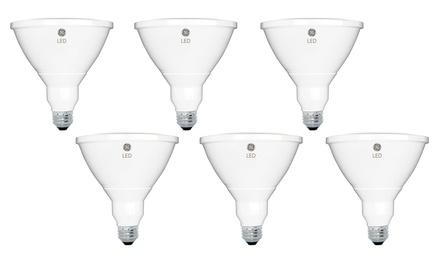 GE Energy-Smart LED 12W 950-Lumen PAR38 Outdoor Floodlight (6-Pack)