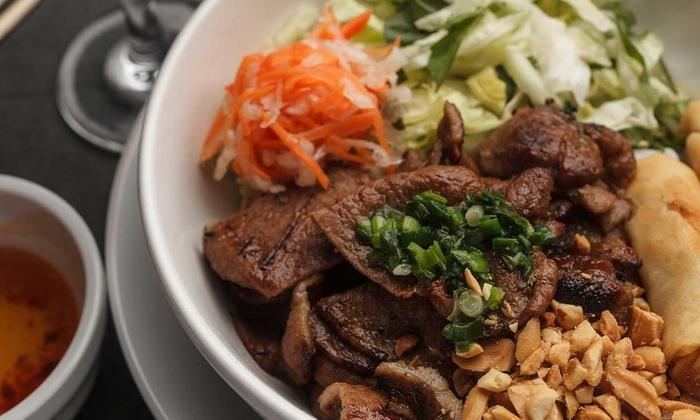 Vietnamese food pho michael vietnamese cuisine groupon - Vietnamese cuisine pho ...