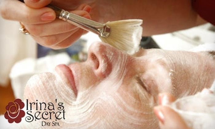 Irina's Secret - Southbrook: $35 for a 90-Minute European Facial at Irina's Secret Day Spa in Olathe