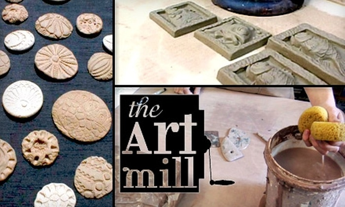 The Art Mill - Omaha: $19 for $38 Worth of Clay-Molding Instruction and Materials at The Art Mill